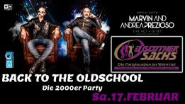 Back to the Oldschool die 2000er Party mit Prezioso feat. Marvin
