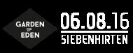 Garden of Eden - Music Event - 6.8.2016 Siebenhirten/Mistelbach